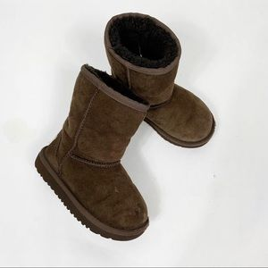 Ugg Australia Toddler classic boots chocolate